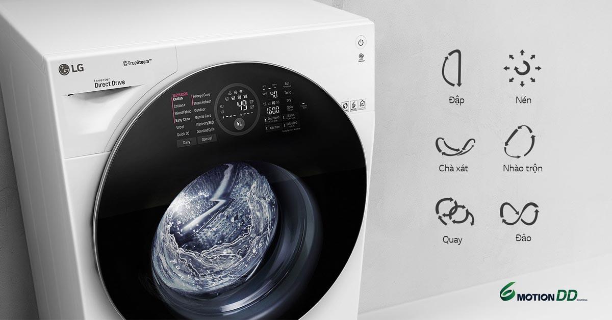 Máy Giặt LG TWINWash FG1405H3W - 6 Motion DD