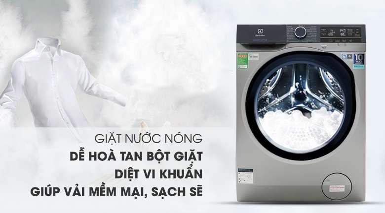 Giặt nước nóng  - Máy giặt Electrolux Inverter 9.5 kg EWF9523ADSA