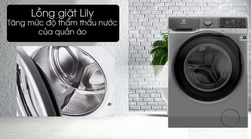 Máy giặt Electrolux Inverter 11 kg EWF1141AESA - lồng giặt Lily