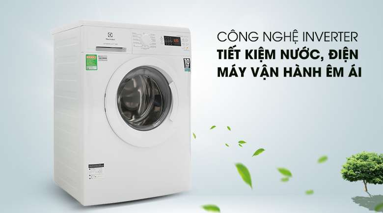 Công nghệ Inverter - Máy giặt Electrolux Inverter 8 Kg EWF8025DGWA