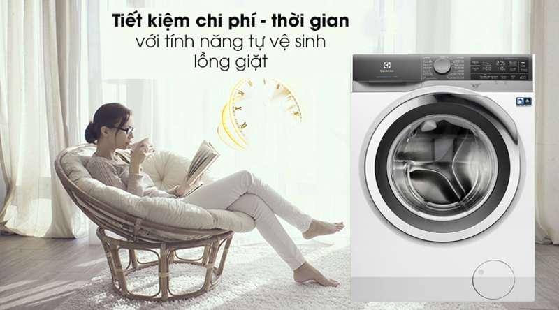 Máy giặt Electrolux Inverter 11 kg EWF1142BEWA- Bền lâu với tính năng tự vệ sinh lồng giặt