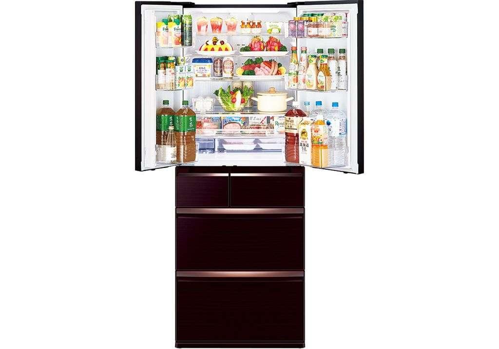 Tủ lạnh Mitsubishi Electric 506 lít MR-WX52D-BR-V