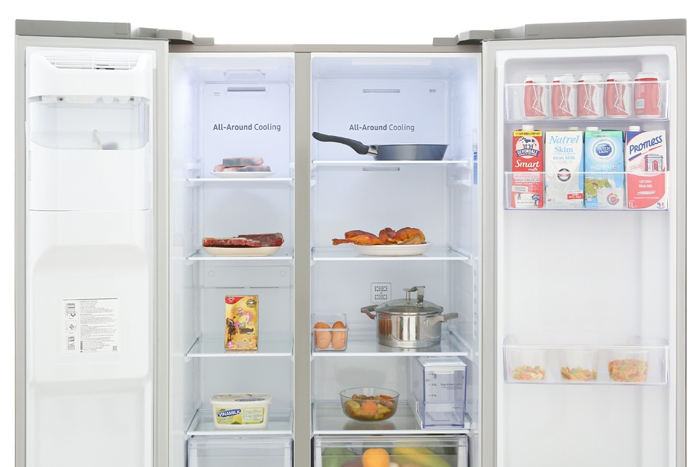Tủ lạnh Samsung Inverter 617 lít RS64R5101SL/SV Mẫu 2019