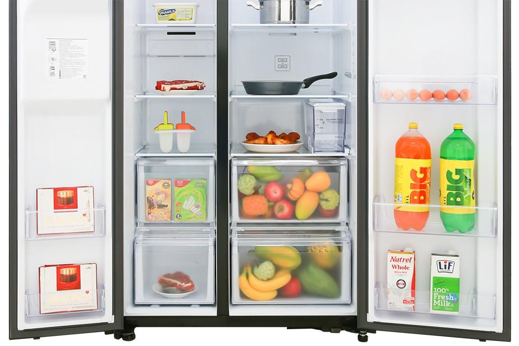 Tủ lạnh Samsung Inverter 617 lít RS64R53012C/SV Mẫu 2019