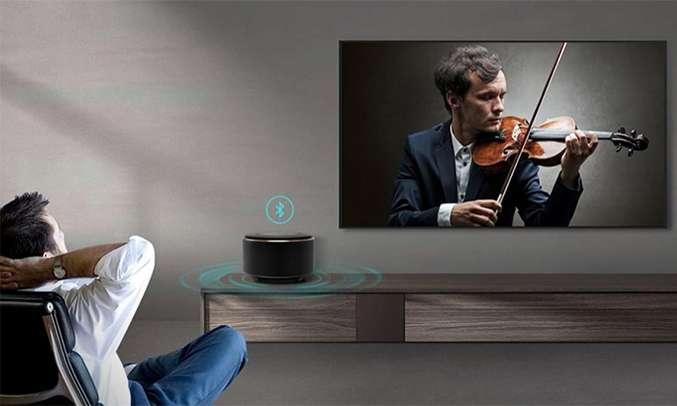 Tivi TCL LED L55P8 âm thanh Bluetooth