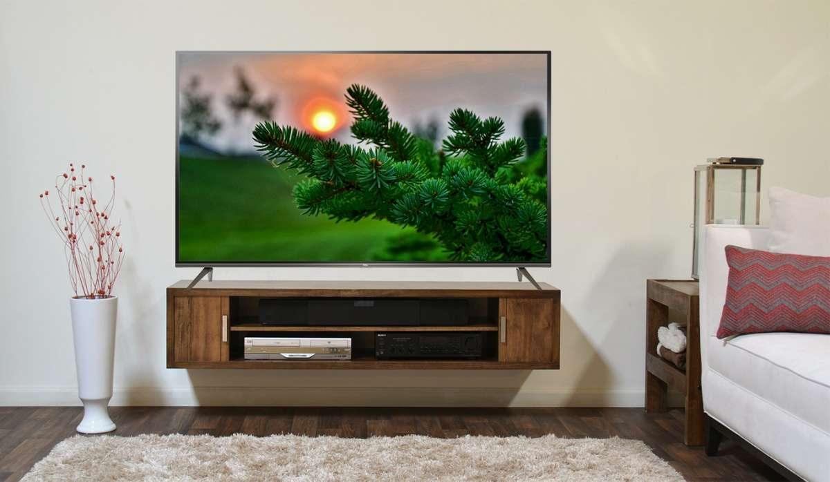 Tivi TCL LED L55P8 có thiết kế thanh mảnh