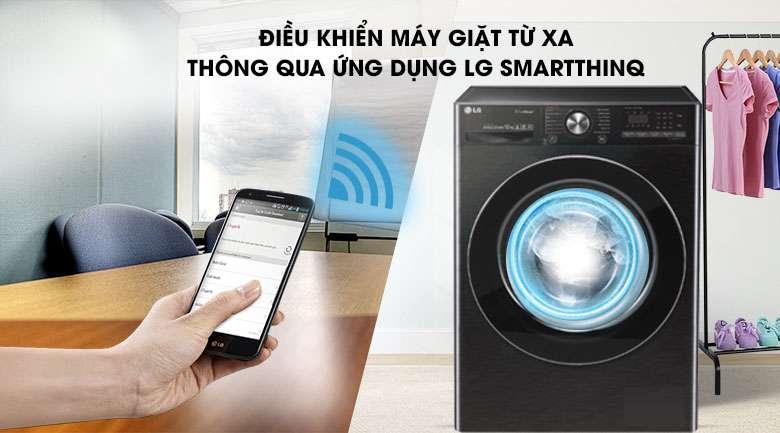 Điều khiển từ xa - Máy giặt sấy LG Inverter 10.5 kg FV1450H2B