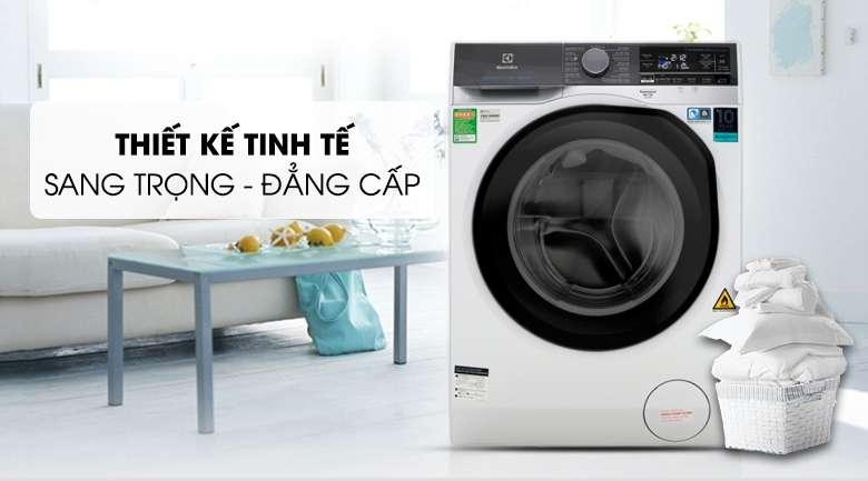 Thiết kế sang trọng và cao cấp - Máy giặt sấy Electrolux Inverter 10 kg EWW1042AEWA
