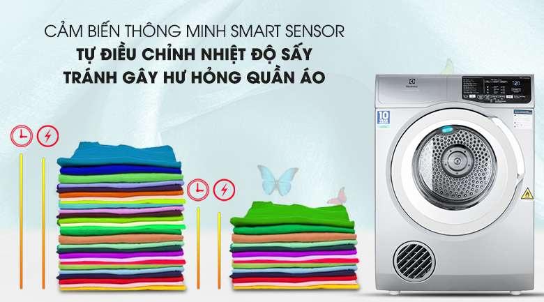 Cảm biến Smart Sensor - Máy sấy Electrolux 8 kg EDS805KQSA