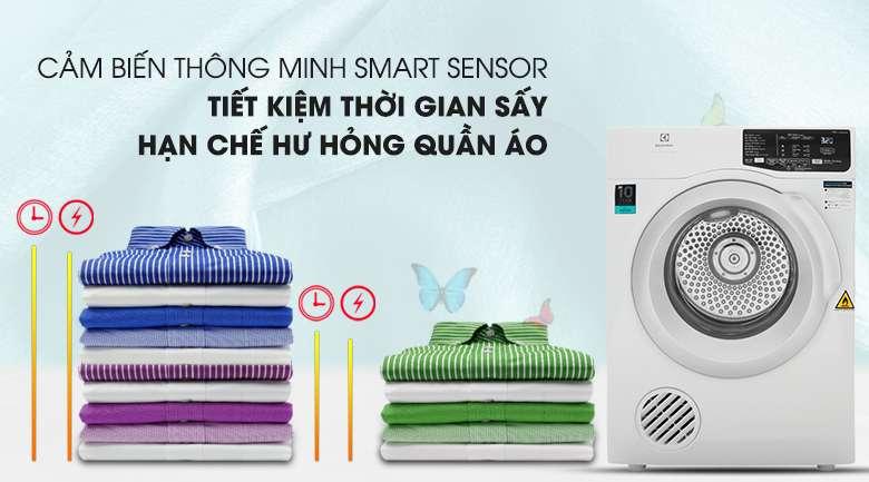 Công nghệ Smart Sensor - Máy sấy Electrolux 8 Kg EDV805JQWA