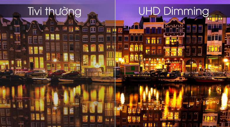 Smart Tivi Samsung 4K 43 inch UA43RU7100 - UHD Dimming