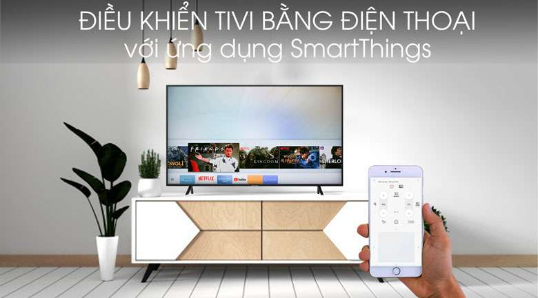 Smart Tivi Samsung 4K 43 inch UA43RU7100 - SmartThings