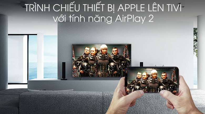 Smart Tivi Samsung 4K 43 inch UA43RU7100 - AirPlay 2