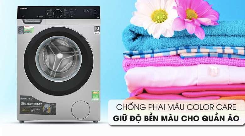 Color Care - Máy giặt Toshiba Inverter 8.5 kg TW-BH95M4V SK