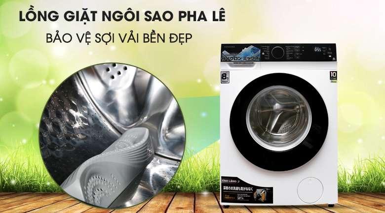 Lồng giặt ngôi sao pha lê - Máy giặt Toshiba Inverter 8.5 kg TW-BH95M4V
