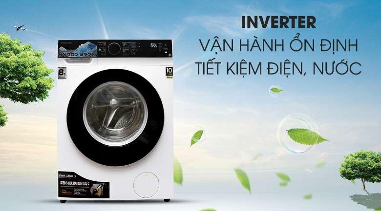 Công nghệ Inverter - Máy giặt Toshiba Inverter 8.5 kg TW-BH95M4V