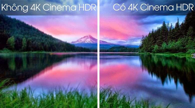 Công nghệ 4K Cinema HDR - Smart Tivi OLED LG 4K 55 inch 55B9PTA