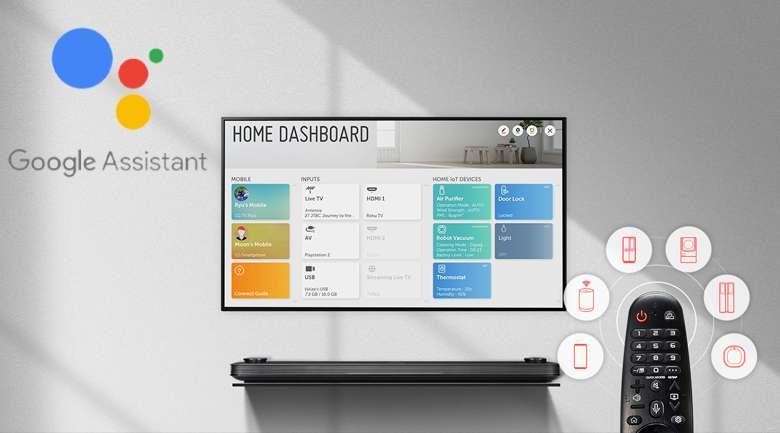 Smart Tivi OLED LG 4K 55 inch 55B9PTA - Trí tuệ nhân tạo thông minh AI ThinQ