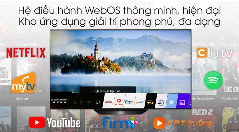 Smart Tivi OLED LG 4K 55 inch 55B9PTA - hệ điều hành