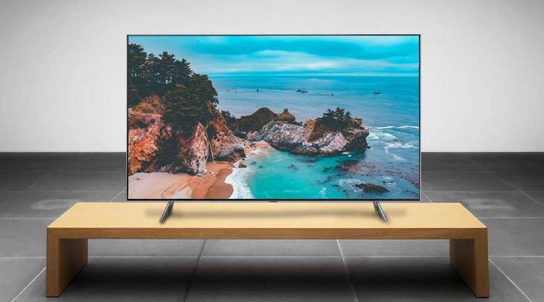 Smart Tivi QLED Samsung 4k 55 inch QA55Q75R - Thiết kế