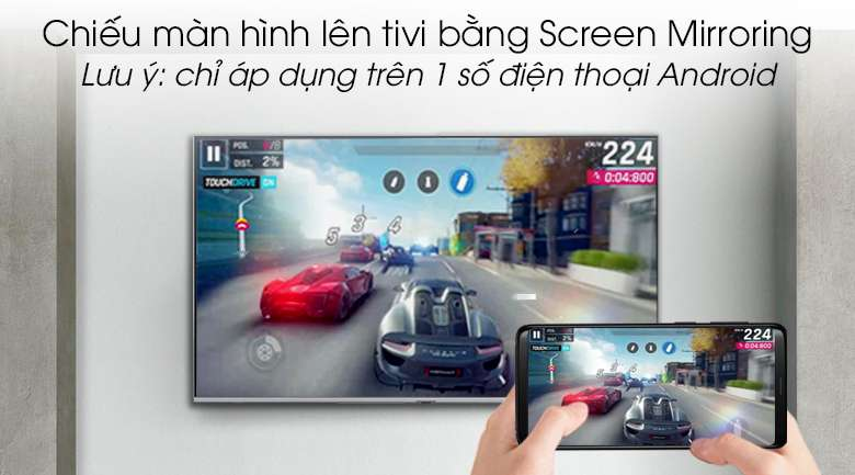 Smart Tivi QLED Samsung 4k 55 inch QA55Q75R - Screen Mirroring