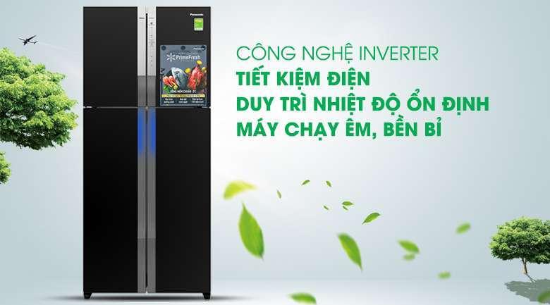 Công nghệ Inverter - Tủ lạnh Panasonic Inverter 550 lít NR-DZ600GXVN