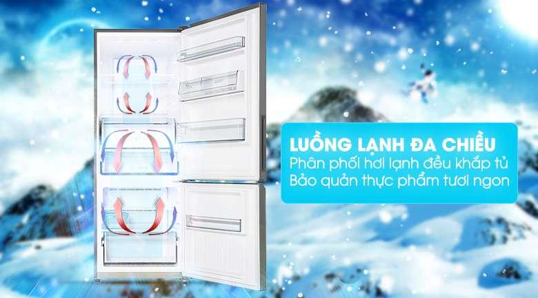 Hơi lạnh tỏa đều với công nghệ làm lạnh Panorama - Tủ lạnh Panasonic Inverter 290 lít NR-BV320QSVN
