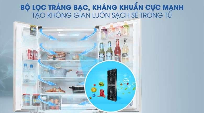 Công nghệ Ag Clean - Tủ lạnh Panasonic Inverter 642 lít NR-F654GT-X2