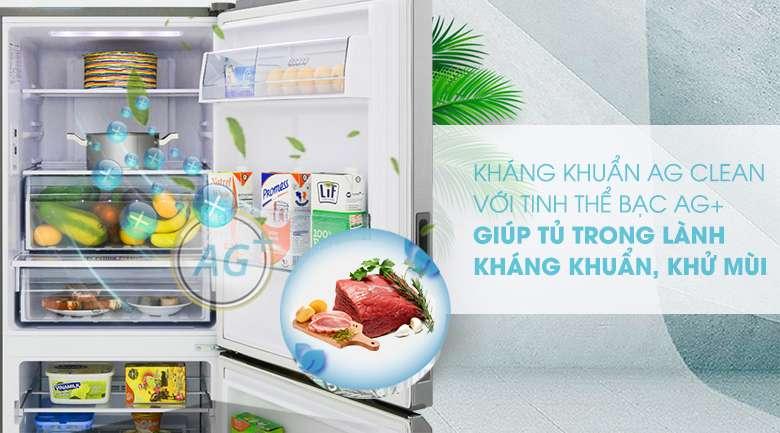 Công nghệ Ag Clean - Tủ lạnh Panasonic Inverter 255 lít NR-BV280QSVN