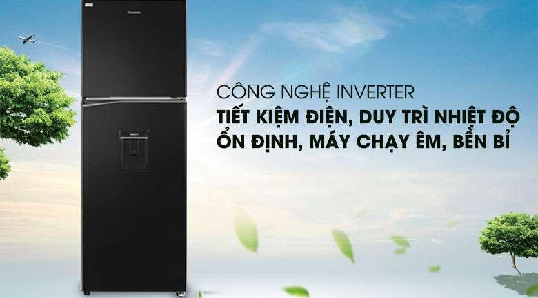Công nghệ Inverter - Tủ lạnh Panasonic Inverter 326 lít NR-BL351WKVN