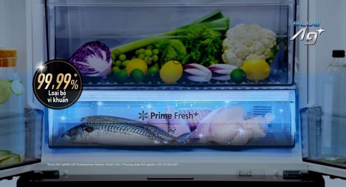 Ngăn đông mềm diệt khuẩn PrimeFresh+ & BlueAg