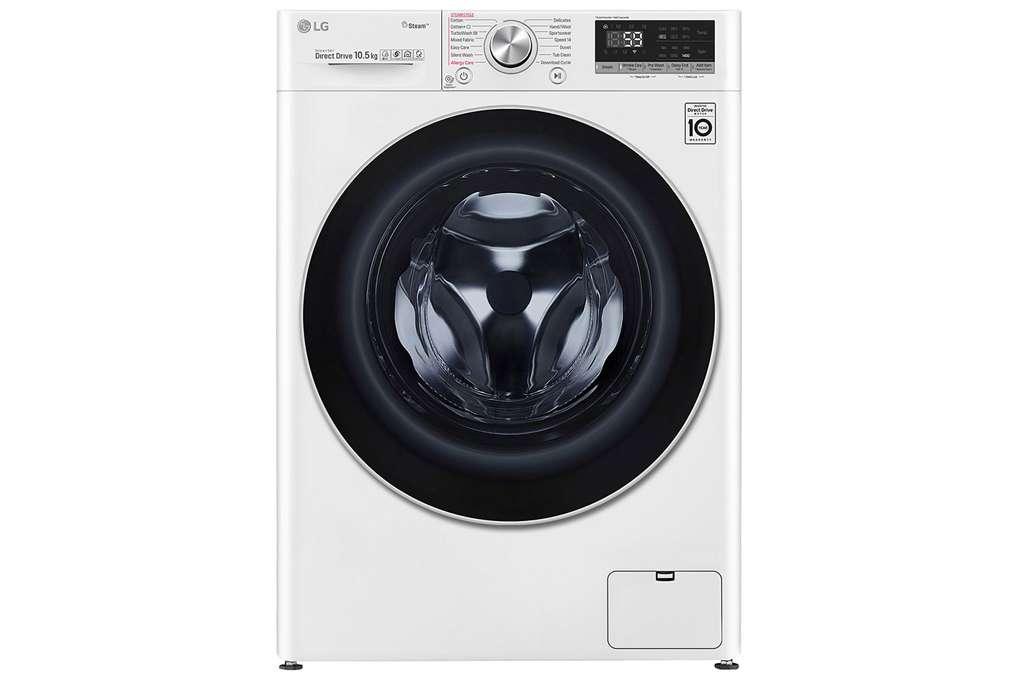 Máy giặt LG Inverter 10.5 kg FV1450S3W  - Tiết kiệm điện và nước nhờ công nghệ Inverter