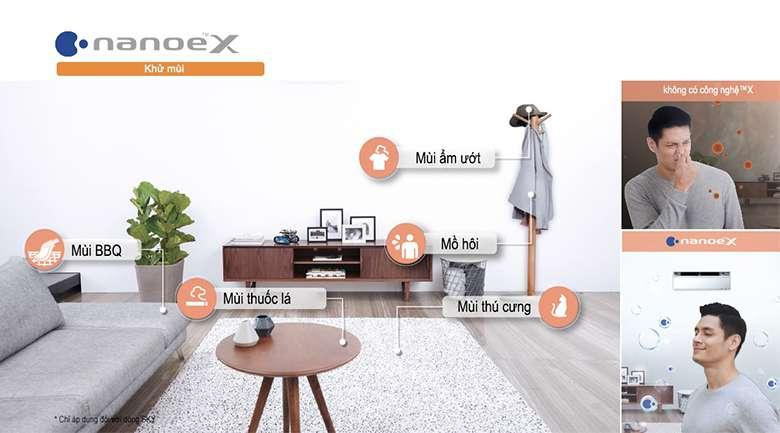 NanoeX - Máy lạnh Panasonic Inverter 1 HP CU/CS-VU9UKH-8