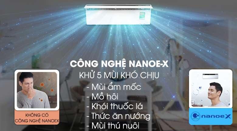 NanoeX - Máy lạnh Panasonic Inverter 1.5 HP CU/CS-VU12UKH-8
