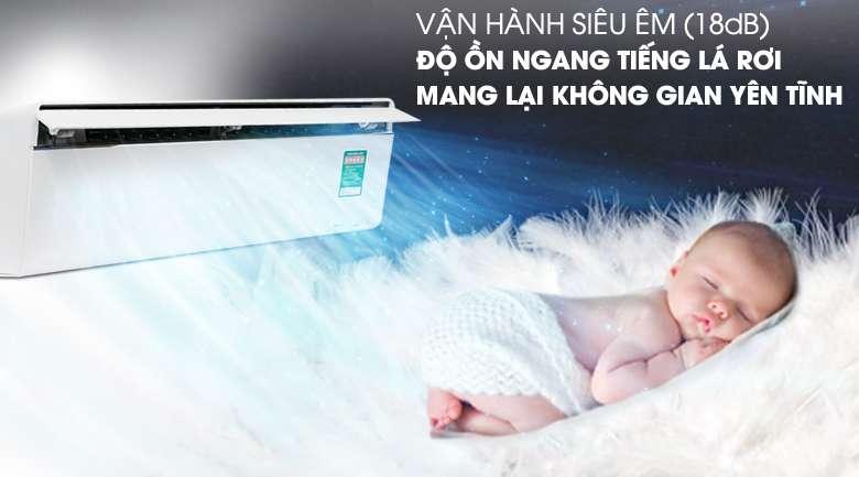 Vận hành siêu êm - Máy lạnh Panasonic Inverter 1.5 HP CU/CS-VU12UKH-8