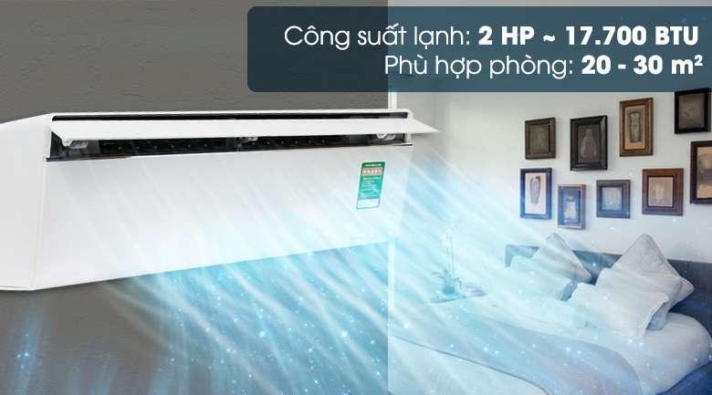 Công suất - Máy lạnh Panasonic Inverter 2 HP CU/CS-VU18UKH-8