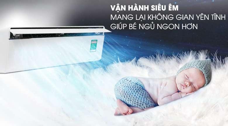 Vận hành êm ái - Máy lạnh Panasonic Inverter 2 HP CU/CS-VU18UKH-8