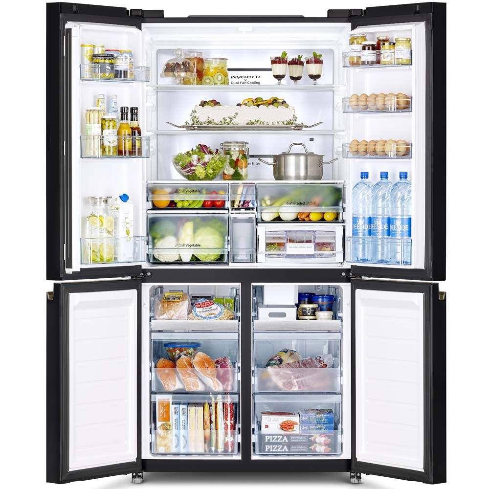 French Bottom Freezer 4door Deluxe 07