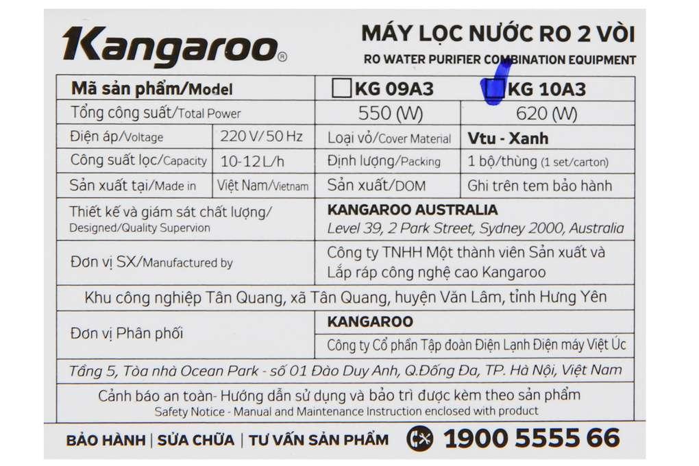 May Loc Nuoc Kangaroo Kg10a3 8 Org