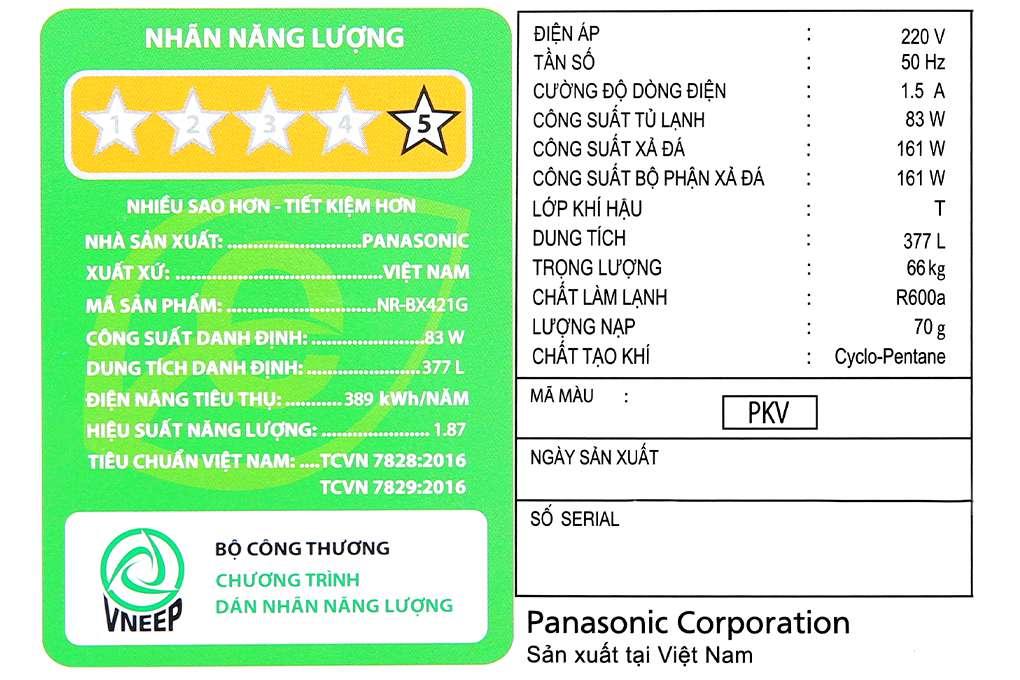 Panasonic Nr Bx421gpkv 14 Org