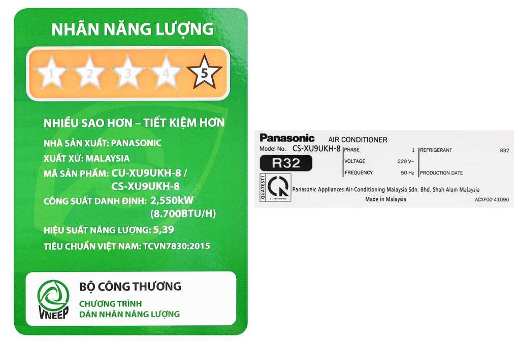 Panasonic Cu Cs Xu9ukh 8 9 Org